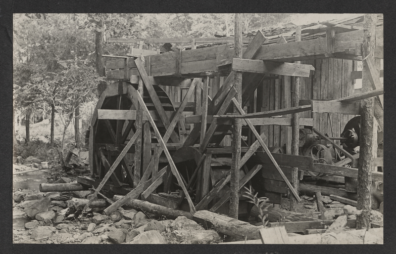 Go to Tennessee. Water mill item page