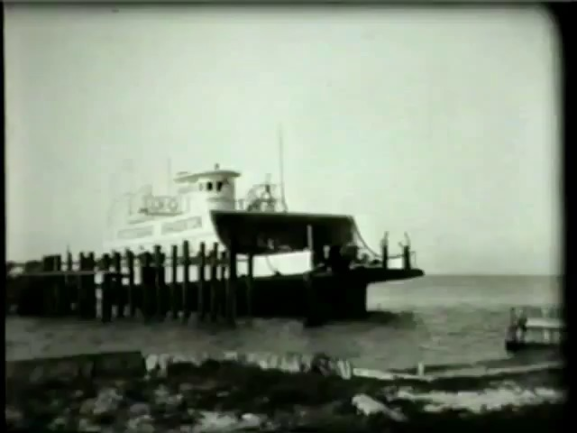Florida. Bradenton-St. Petersburg Ferry, 1935