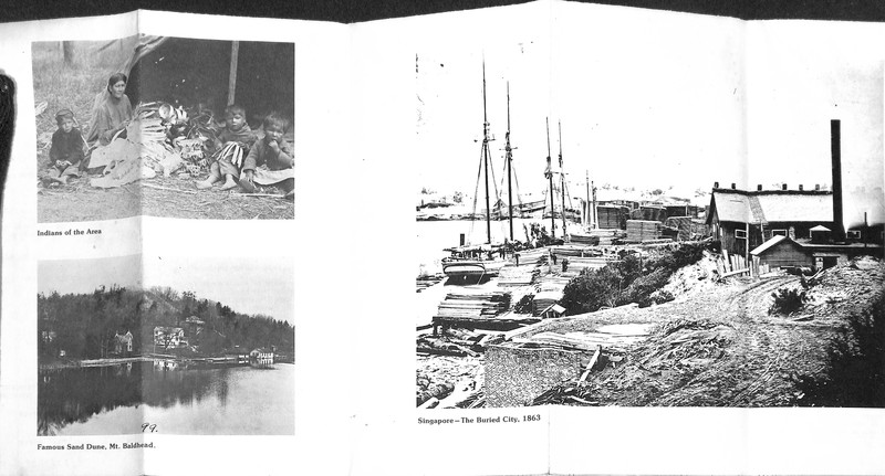 Go to Fold-out with historic Saugatuck, Michigan photographs item page