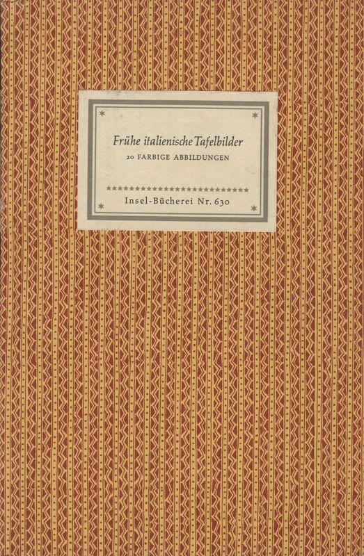 Go to Frühe italienische Tafelbilder: 20 Meisterwoerke des Lindenau-Museum Altenburg item page