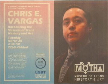 Go to Chris E. Vargas: Introducing the Museum of Trans Hirstory and Art item page