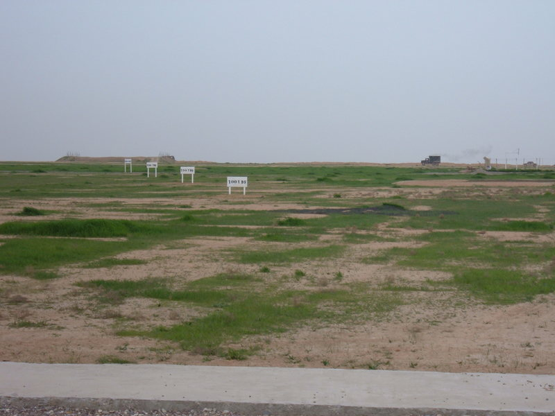 Go to Golf driving range the men constructed on FOB Q-West item page