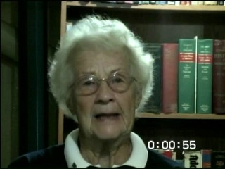 Go to Remus, Lillian (Interview transcript and video), 2009 item page