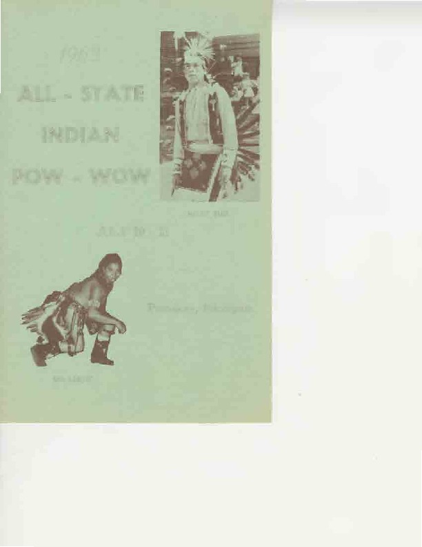 Go to Annual All State Indian Pow-Wow, July 1963 item page