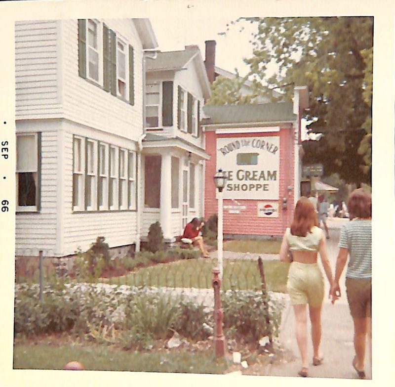 Go to Sidewalk view of 'Round the Corner Ice Cream Shoppe item page