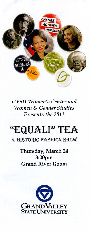 """Go to """"Equali"""" Tea and Historic Fashion Show item page"""