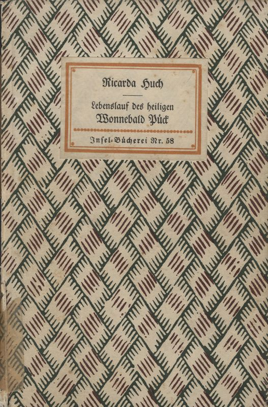 Go to Lebenslauf des heiligen Wonnebald Pück: eine Erzählung item page