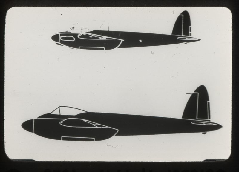 Go to Mosquito-Hornet British combat aircraft item page