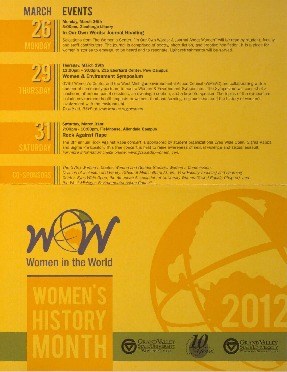 Go to Women's History Month 2012: Women in the World item page
