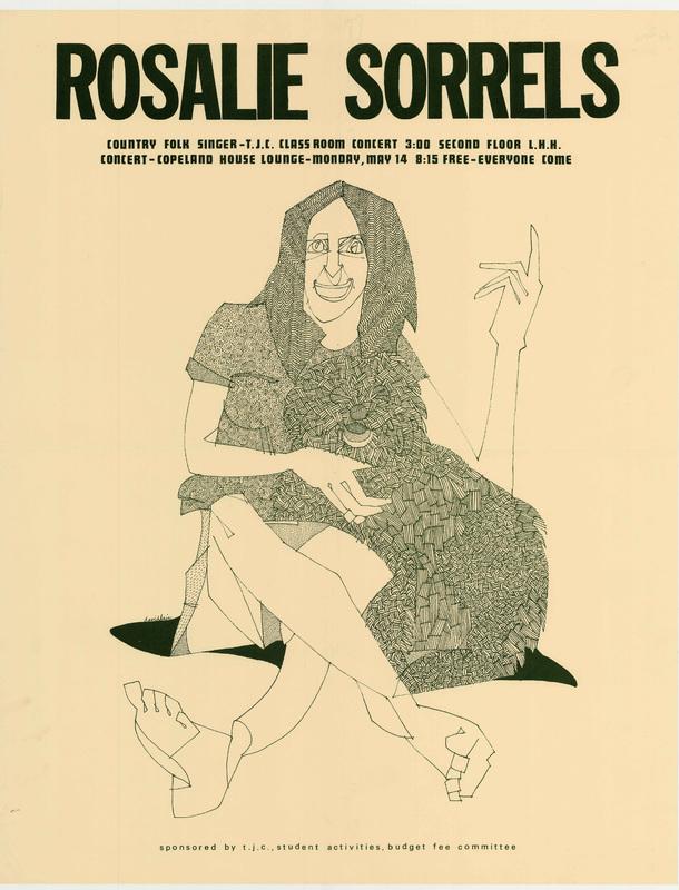 Go to Rosalie Sorrels concert poster item page