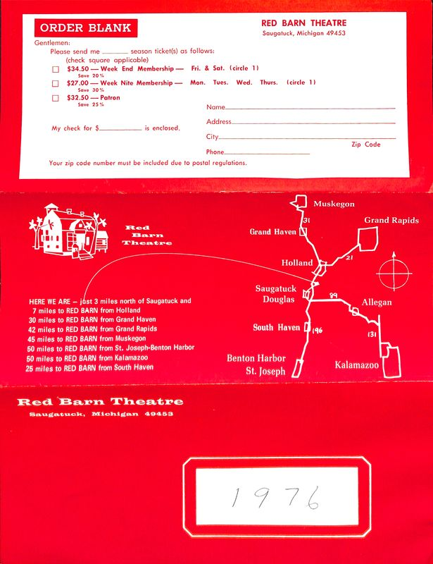 Go to 1976 Season Ticket Order Form item page