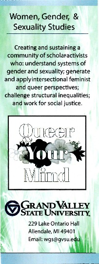 Go to Women, Gender, and Sexuality Studies item page