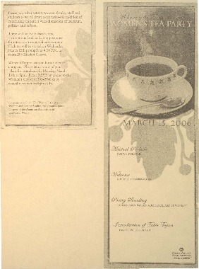 Go to Women's Tea Party item page