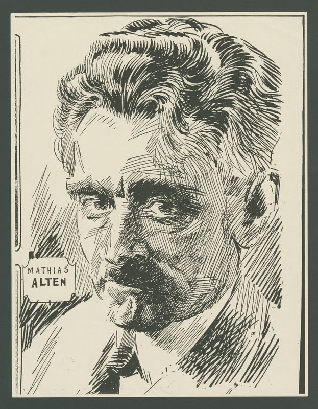 Go to Sketch of Mathias Alten by  Ray Barnes item page