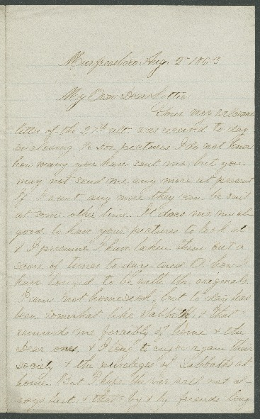 Go to John Bennitt to his wife [Letter 085] item page