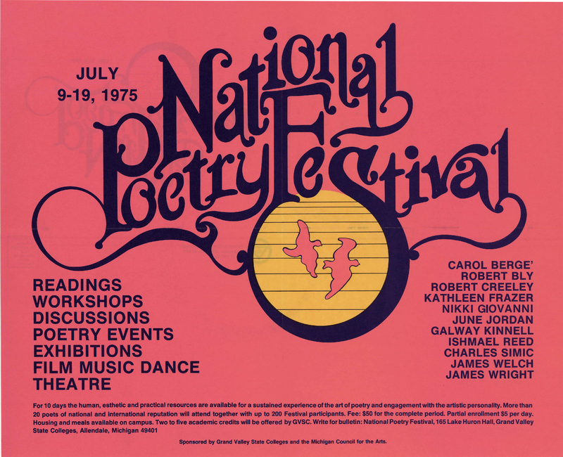 Go to National Poetry Festival, 1975 item page