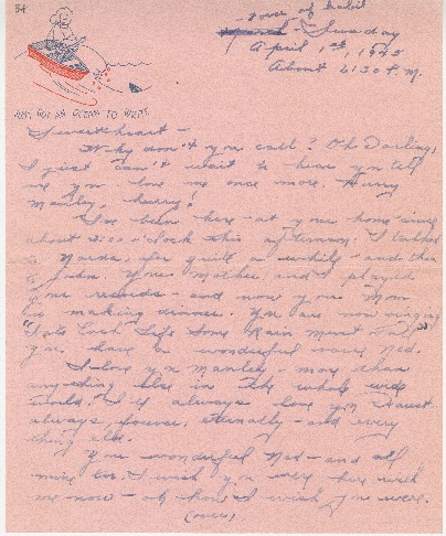 "Go to Letter to Edward ""Ned"" Manley by Jean Worthington, April 01, 1945. item page"