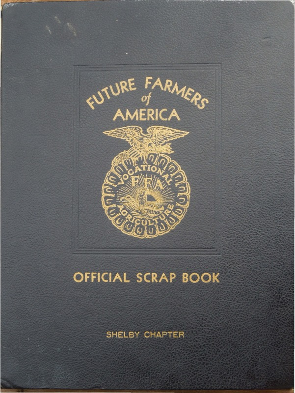Go to Official Scrapbook, Future Farmers of America, Shelby, Michigan item page