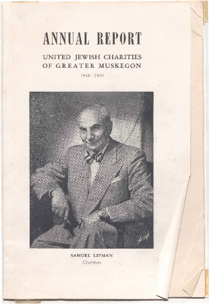 Go to Annual Report: United Jewish Charities of Greater Muskegon, 1948-1949 item page