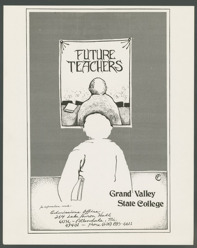 Go to Admissions poster for Grand Valley State College future teachers program item page