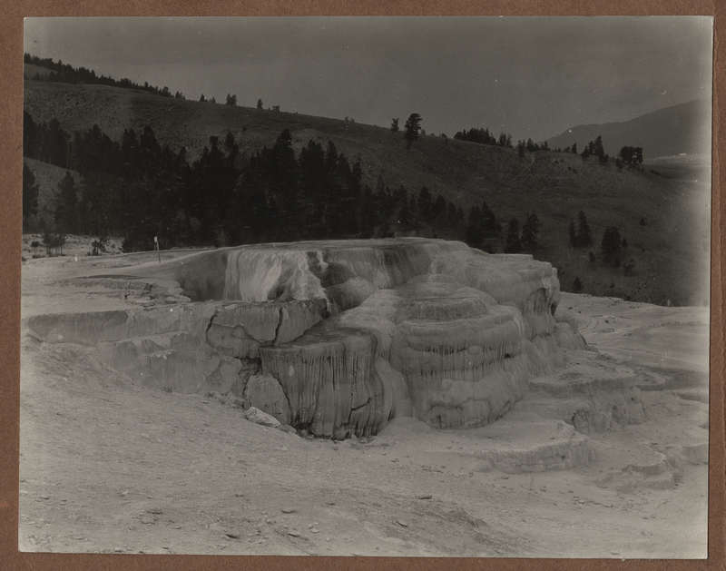 Go to Wyoming. Mammoth Hot Springs item page