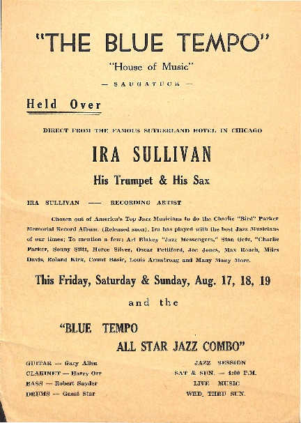Go to Ira Sullivan at The Blue Tempo item page