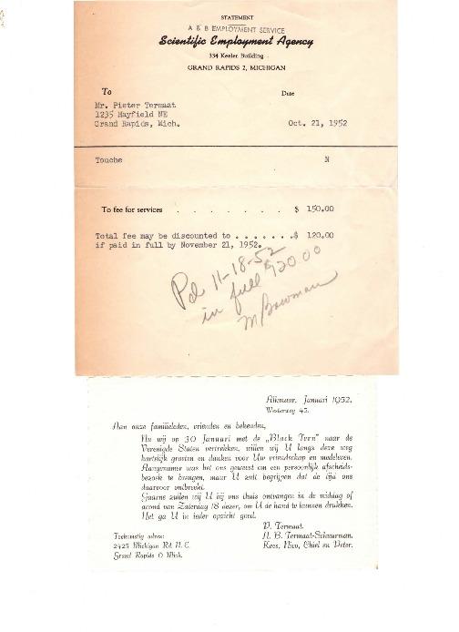 Go to Termaat Emigration documents item page