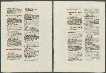 Browse the Incunabula collection