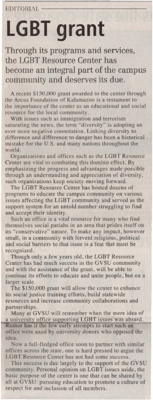 Go to LGBT Grant item page