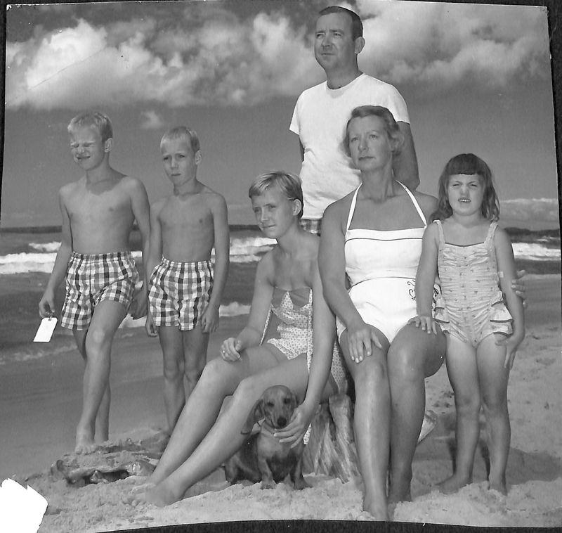 Go to Heuchan family circa 1954-1955 item page