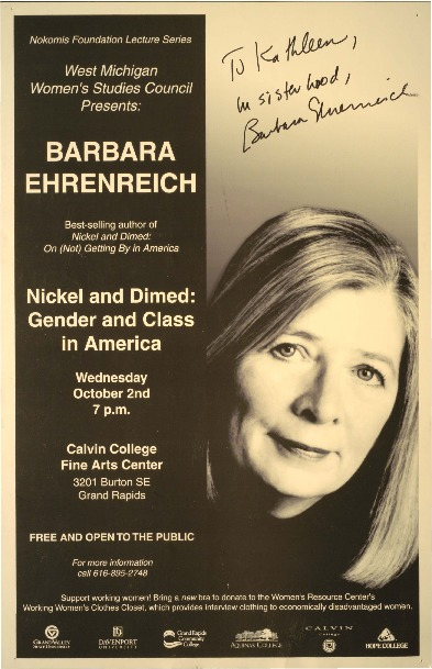 Go to Nickel and Dimed: Gender and Class in America item page