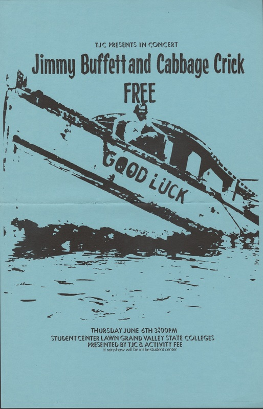 Go to Jimmy Buffett and Cabbage Crik, June 6, 1974 item page