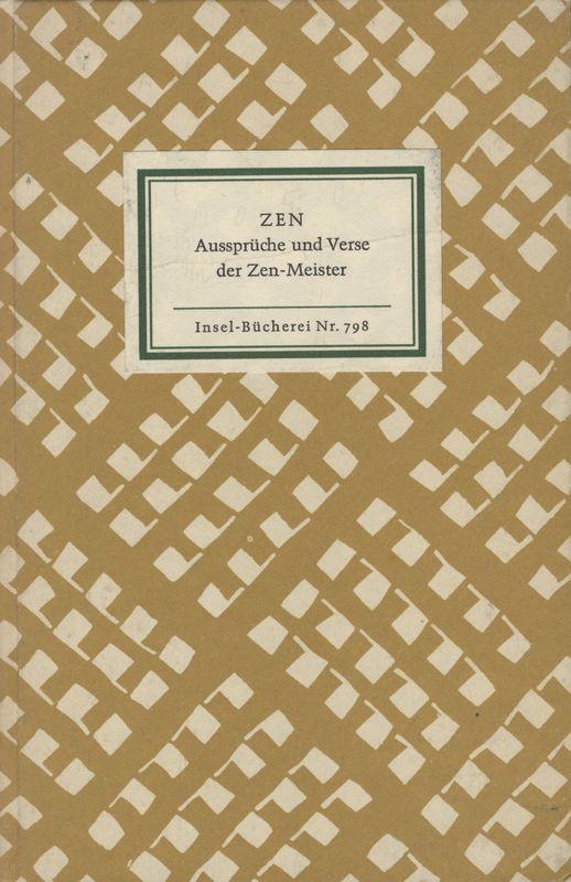 Go to Zen: Aussprüche und Verse der Zen-Meister item page