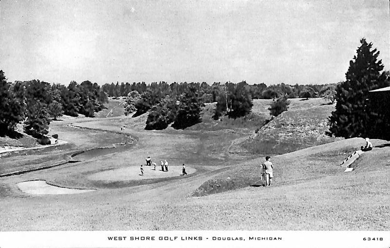 Go to West Shore Golf Links, Douglas, Mich. postcard item page