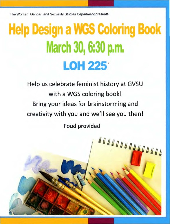 Go to Help Design a WGS Coloring Book item page