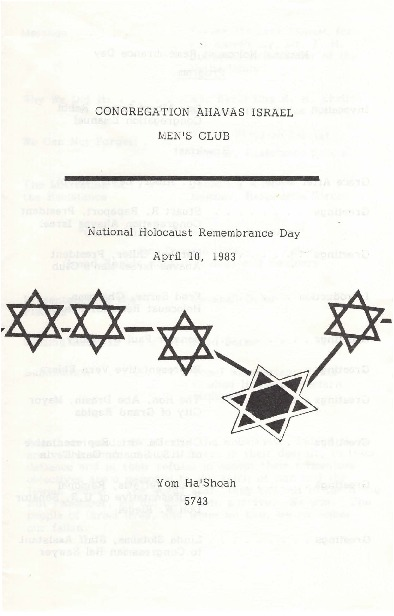 Go to National Holocaust Remembrance Day program item page