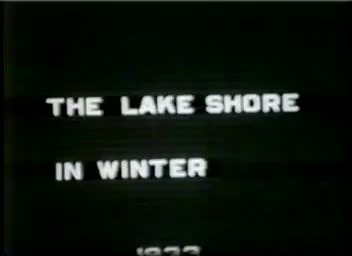 Go to Michigan. Lakeshore in winter, 1933 item page