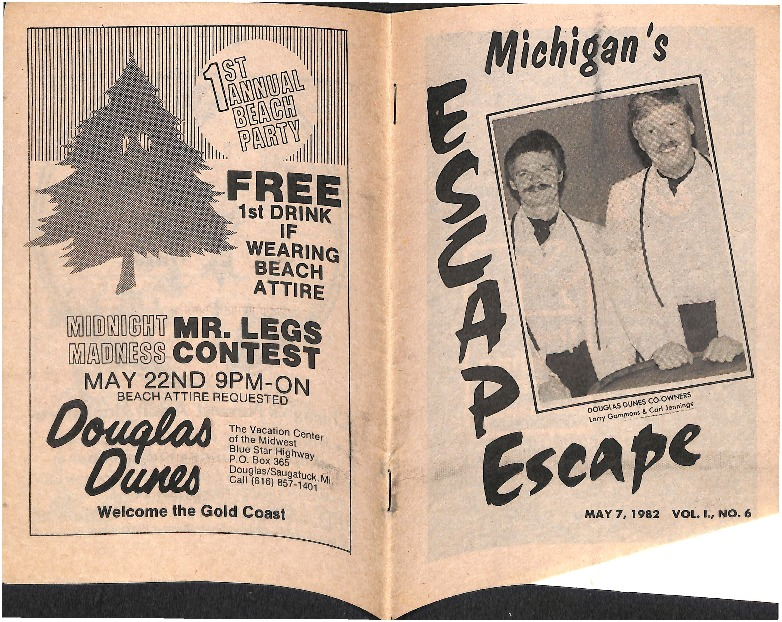 Go to Douglas Dunes: Michigan's Escape item page