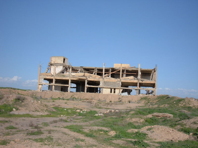 Go to The former Iraqi VIP building on FOB Q-West showing Cruise missile damage item page