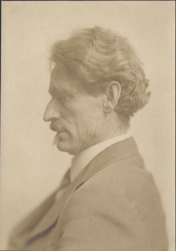 Portrait of painter Mathias Alten