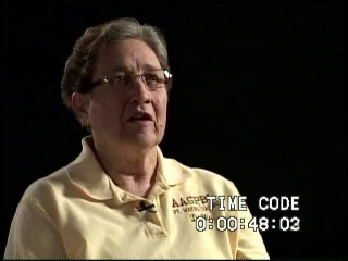 Go to White, Delores Brumfield (Interview transcript and video), 2009  item page