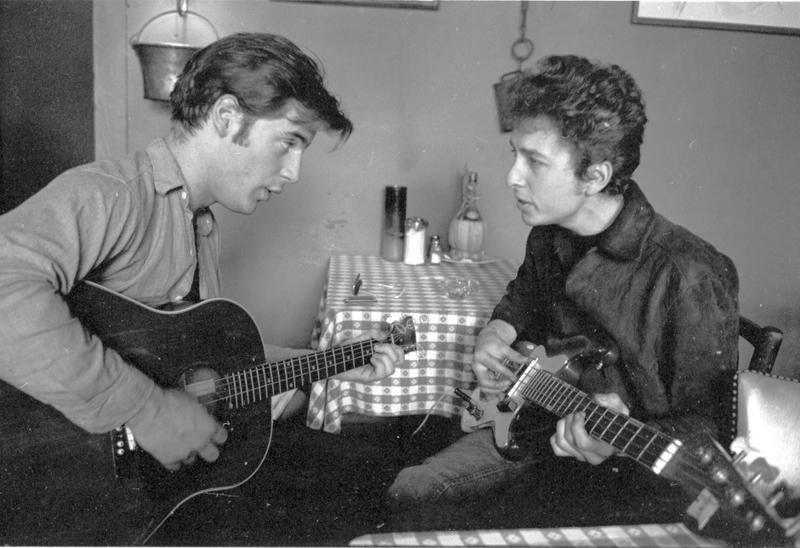 Go to Bob Dylan and John Sebastian at Café Espresso, Woodstock, NY item page