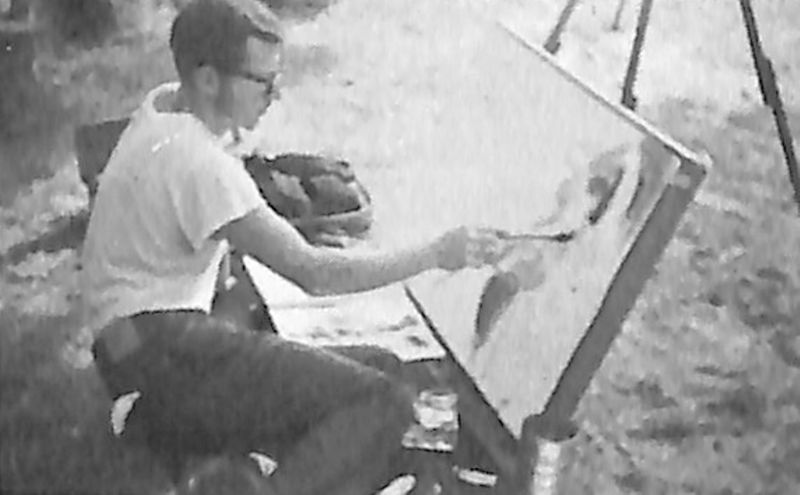 Go to Young Man Painting item page