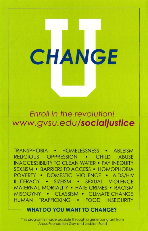 Go to Change U Poster item page
