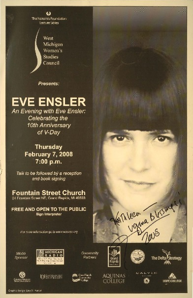 Go to An Evening with Eve Ensler: Celebrating the 10th Anniversary of V-Day item page