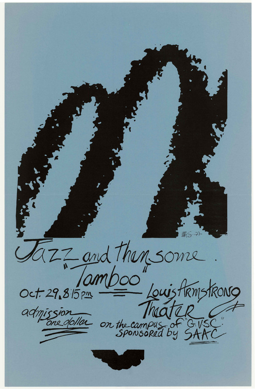 """Go to Jazz and then some """"Tamboo"""", October 29, 1977 item page"""