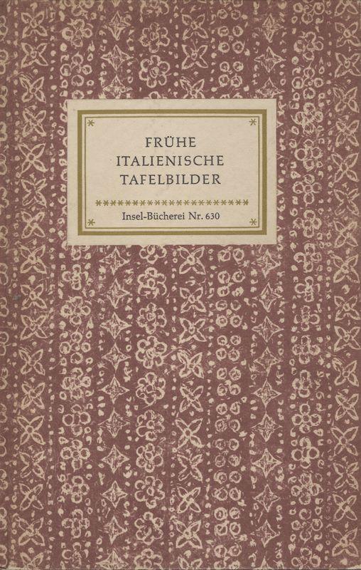 Go to Frühe italienische Tafelbilder: 20 Meisterwoerke des Lindenau-Museums in Altenburg item page