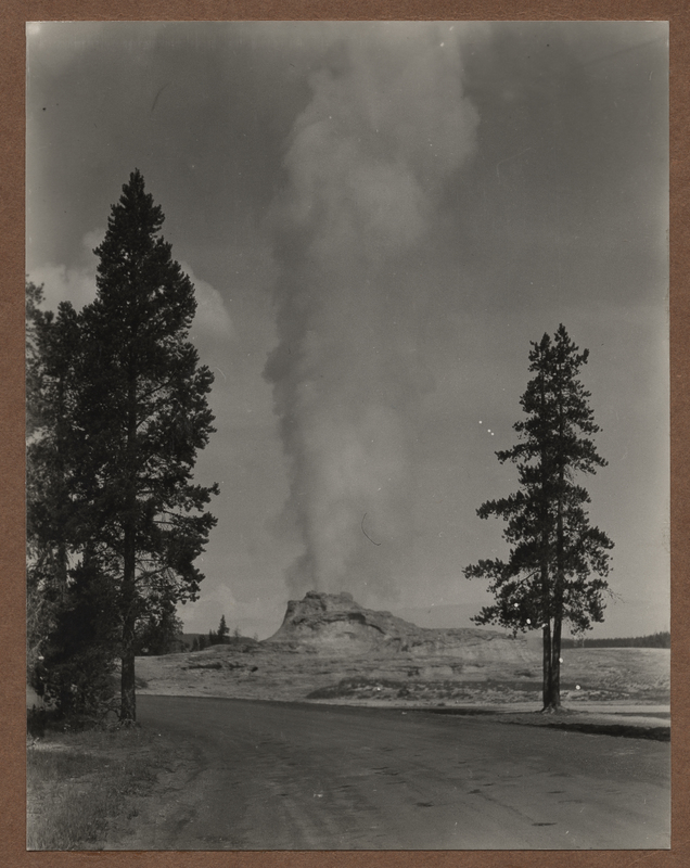 Go to Wyoming. Castle Geyser in eruption item page