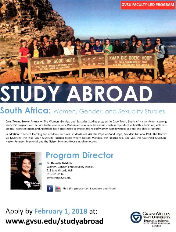 Go to Study Abroad South Africa: Women, Gender, and Sexuality Studies item page