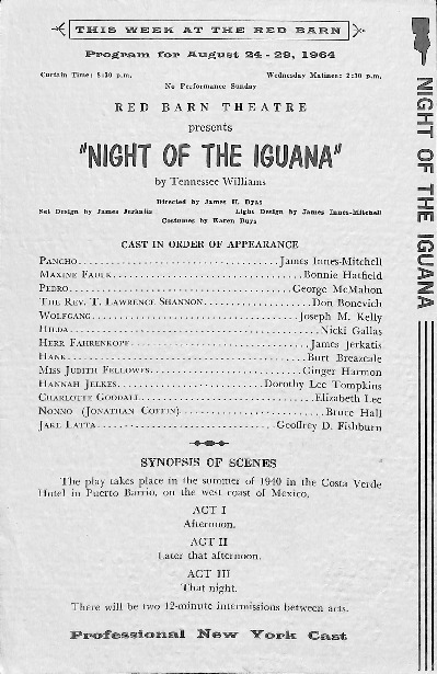 Go to Night of the Iguana item page